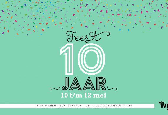 Jubileum 10 jaar!