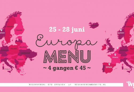 25 – 28 juni Europa