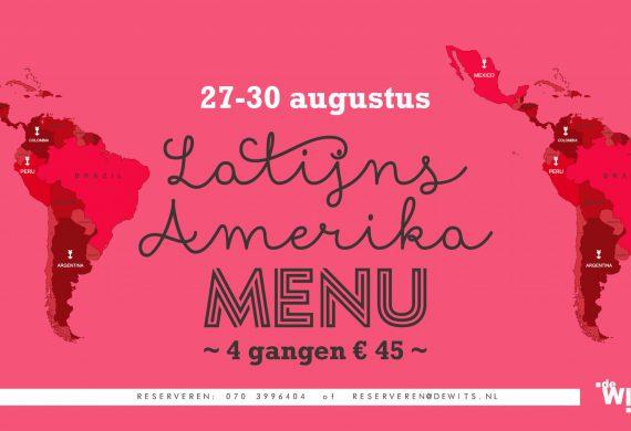 27 – 30 augustus Latijns Amerika